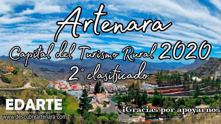 ARTENARA, SEGUNDO CLASIFICADO COMO CAPITAL DEL TURISMO RURAL 2020 #ARTENARACHALLENGE